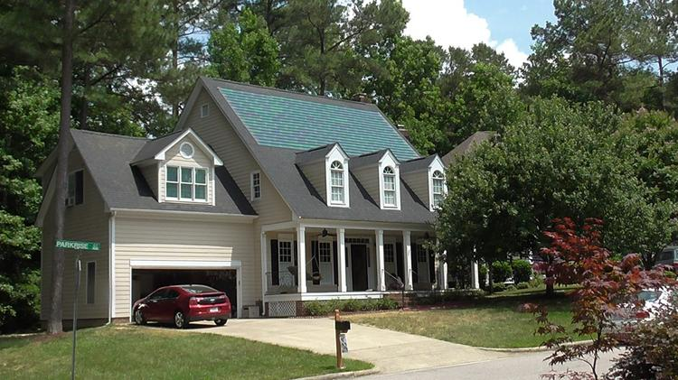 Sun Dollar Energy Of Raleigh Installs Solar Shingles Made