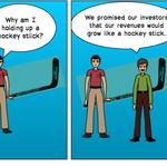 3 assumptions businesses make and how to evaluate a hockey-stick projection