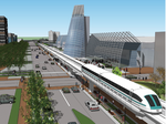 Airport-to-convention center rail route would increase hospitality revenue