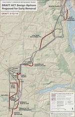Where Portland's next light rail line could run (Map)