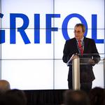 Grifols opens $370M plasma-making plant in Clayton