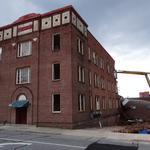 Slideshow: Downtown Greensboro's The Dixie apartments come down