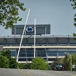 Penn State lighting new Nittany Lion logos engineered by Bunting