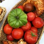 Heirloom tomatoes are the stars of this show