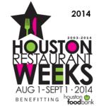 Update: Houston Restaurant Weeks adds more eateries