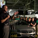 Mercedes-Benz U.S. International CEO on future of his plant, auto industry