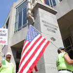 Carpenters union launches website against Convention Center, marketing agencies
