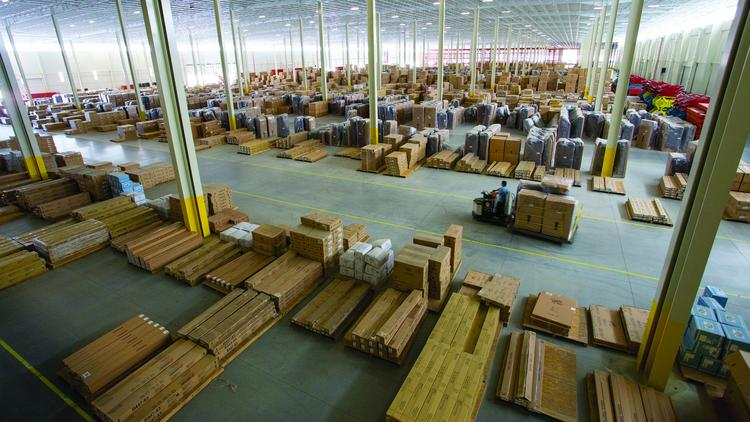 Ashley Furniture is looking to hire 100 employees at its manufacturing, distribution and fulfillment facility in Advance.