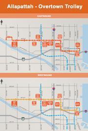 The Miami Trolley's Allapattah-Overtown service.