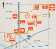The Miami Trolley health district service.