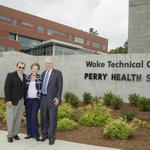 Wake Tech dedicates <strong>Perry</strong> Health and Science Campus