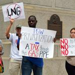 Rally to keep PGW in city's hands has 'just say no' theme