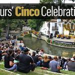 Spurs' Cinco Celebration (slideshow)