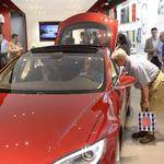 Tesla's new gallery draws a big crowd at NorthPark Center