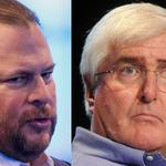 Salesforce's Benioff and Ron Conway run into the real estate lobby in Sacramento