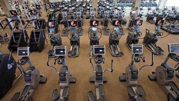 Lifetime Fitness Spa St Paul
