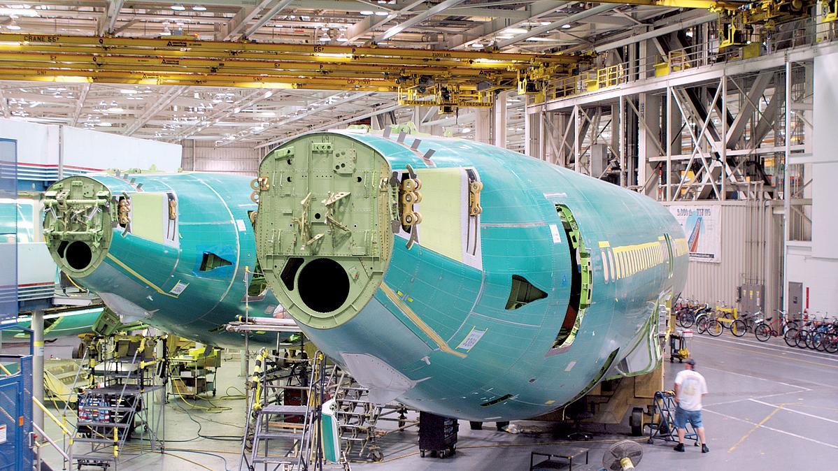 Resultado de imagen para Spirit AeroSystems Boeing 737 MAX fuselage