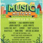 Music Midtown 2014 headliners: Eminem, the Zac Brown Band, Jack White, John Mayer