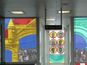 Andrew Hall's artwork will go up at the CTA Red Line's 47th Street station.