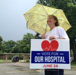 Today's the day for Crittenden Regional Hospital