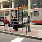 S.F. business owners push back against red transit-only lanes in city