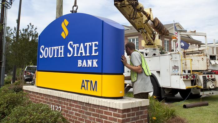 South Carolina bank to buy North Carolina bank for $690.8M; expand presence in Georgia, enter Virginia