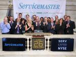 ServiceMaster profits grow, but shares fall