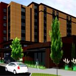 Going up: 123-suite hotel in Issaquah's Hyla Crossing neighborhood