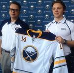 Sabres' first-round pick has whirlwind day in Buffalo