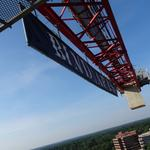 It's the climb: A journey to the top of the Reston Station tower crane (Video)