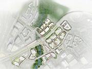 The master plan for Scotts Run North and South. Scotts Run South will total 6.7 million square feet. The north parcel will generate about 1.5 million square feet of new development.