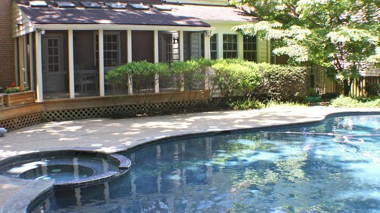 6 D C Baltimore Area Homes For Sale With Cool Outdoor Entertainment Centers Slideshow