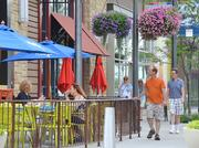 All seven restaurants in the first phase of Prairiefire feature outdoor seating that adds to the street-level vibrancy many office tenants want to be part of.