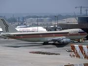 The old PEOPLExpress: The airline flew from 1981 until 1987. Here, a Boeing 747 sits at London's Gatwick Airport.