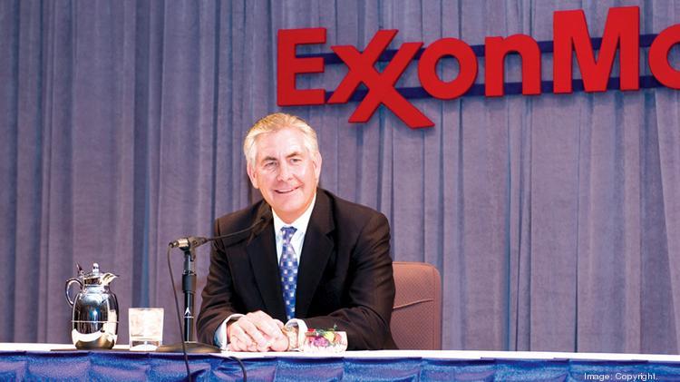 Rex Tillerson, former CEO of Exxon Mobil Corp.