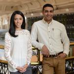 Diversity in Business winners: ​Ahmed El Shourbagy and Ashley Paguyo