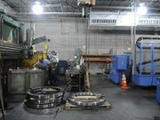 Michael Sanders, working on a vertical turret lathe at Tri Tool in Rancho Cordova, is kept cool by the Climate Wizard next to the machine shop.