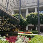 <strong>Elvis</strong> slept at Seattle's Fairmont Olympic Hotel, and now it's for sale