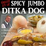Da Coach <strong>Mike</strong> <strong>Ditka</strong> puts his name on a big, big hot dog