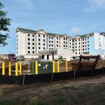 Hotel building boom lifts contractors