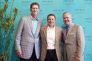 Joe Collier, president, Mainsail Lodging & Development; David Laxer, owner, Bern's Steak House and Tampa Mayor Bob Buckhorn.