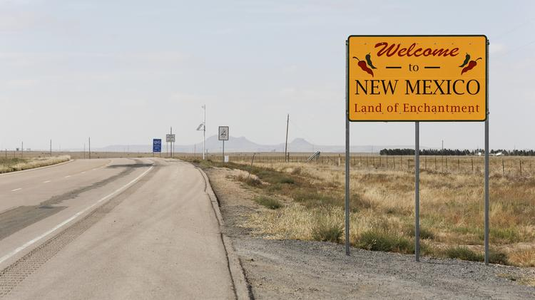 New Mexico ranked third worst rural road conditions