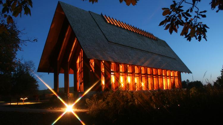 Hollis Miller Architects Inc Partner Chris Heinz Selected The Marjorie Powell Allen Chapel At