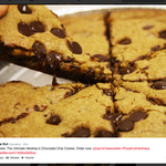 Pizza Hut adds pizza-shaped Hershey's chocolate chip cookie