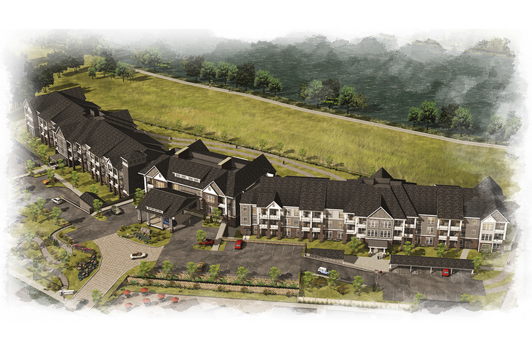 BPM Real Estate Group closed a $24 million construction loan with First Republic Bank to construct Waterford Grand, a senior housing project at Eugene's Goodpasture Island.