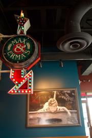 Some of the old kitsch is gone but customers will still find plenty of quirky decorations on the walls.