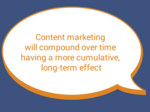 How to integrate content marketing with your traditional marketing