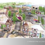 Bustling Centerville retail project erecting two new buildings