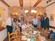 Robert Hagans Jr. with family.
