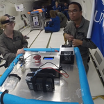 Swooping in zero gravity: UNF students return from week with NASA, look towards biomedical impacts